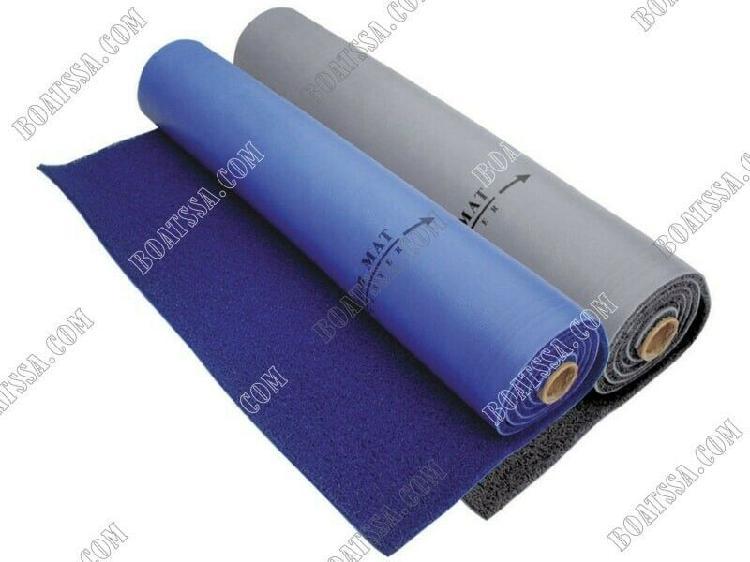 Pvc marine carpet - blue