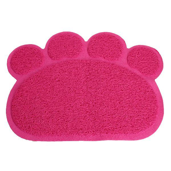 Pet dog puppy pvc cat dish bowl feeding food placemat mat