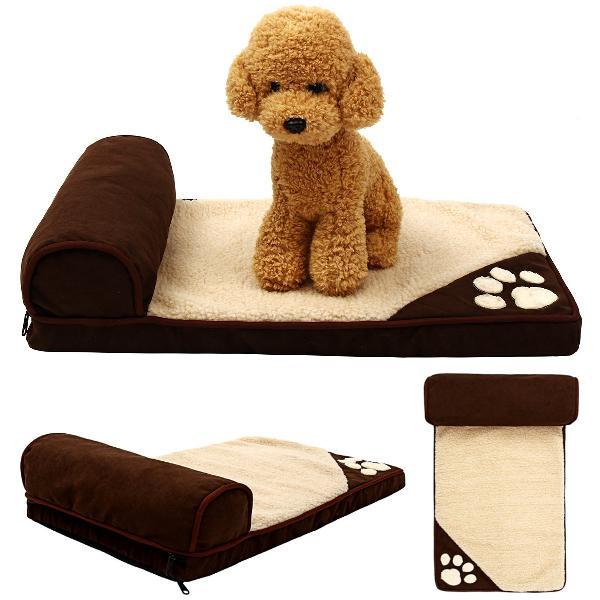S/m/l washable sponge pet dog bed winter warm kennel cushion