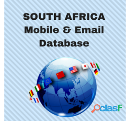 Email database in south africa