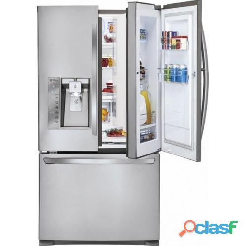"""Lg   door in door 28.6"""" french door refrigerator"""