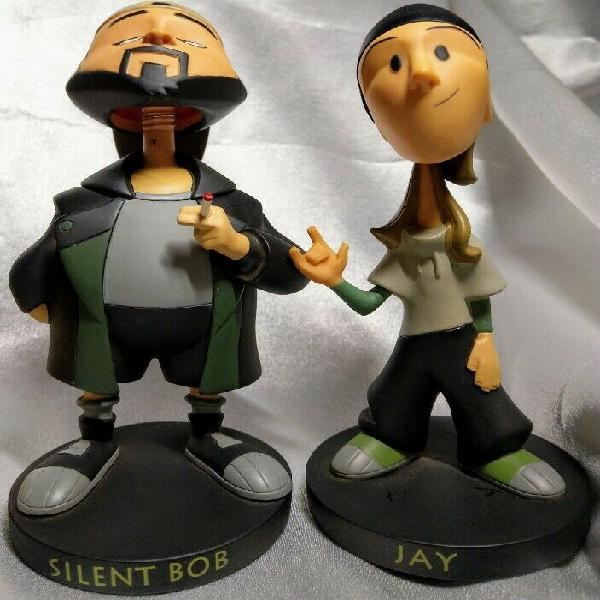 2005 a view askew (dogma) - jay and silent bob bobble heads.