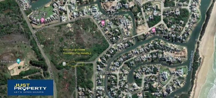 Land in st francis bay now available