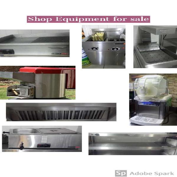 Shop catering equipment for sale