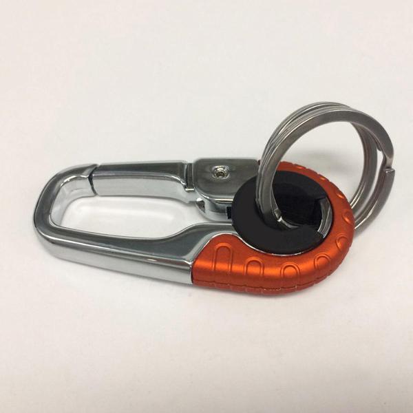 Stainless steel car key ring holder organiser chain heavy