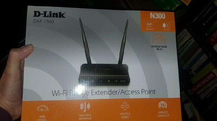 D-link dap 1360 wi-fi range extender/access point