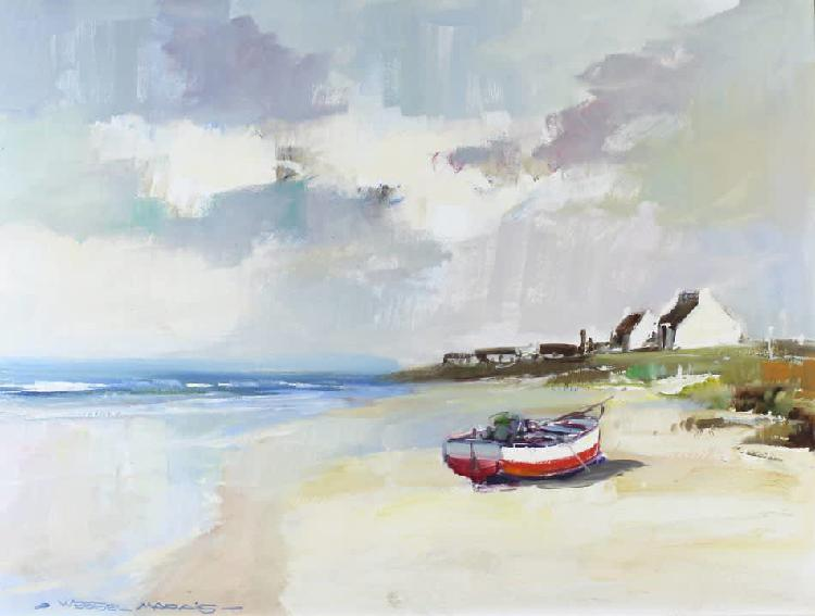 Wessel marais - seascape - investment art! - stunning work!