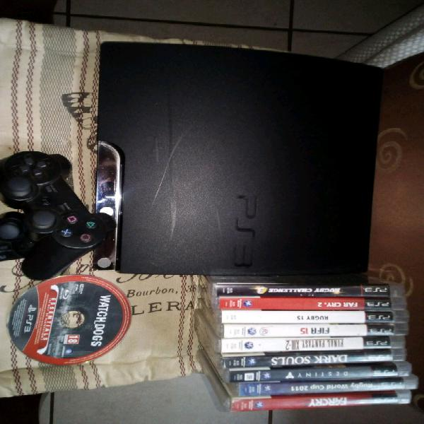 Playstation 3and games and controllers