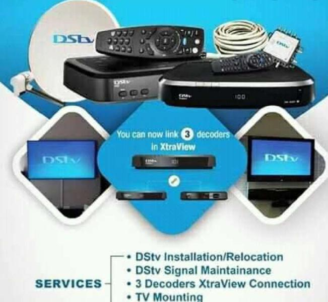Dstv installations maintenance and tv wall mounting same day