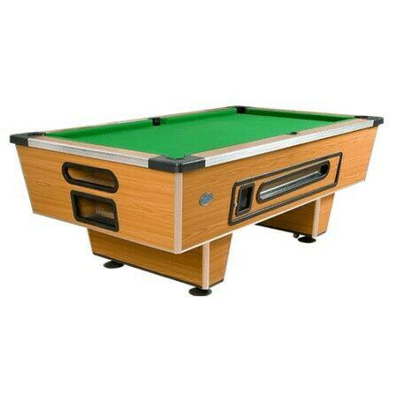 Coin-Operated Pool Table Pool table RENO slate top