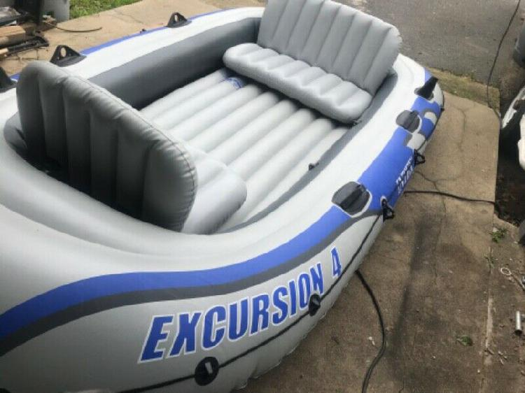 Excursion 4 seahawk inflatable boat