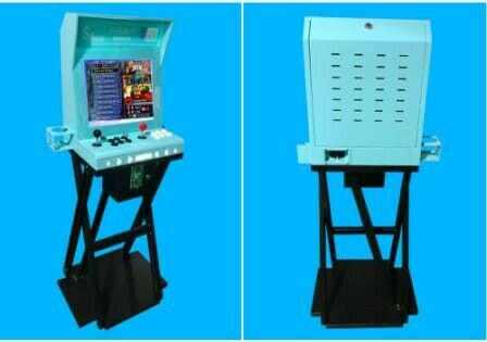 coin operated arcade video game machine 1660 biuld in games