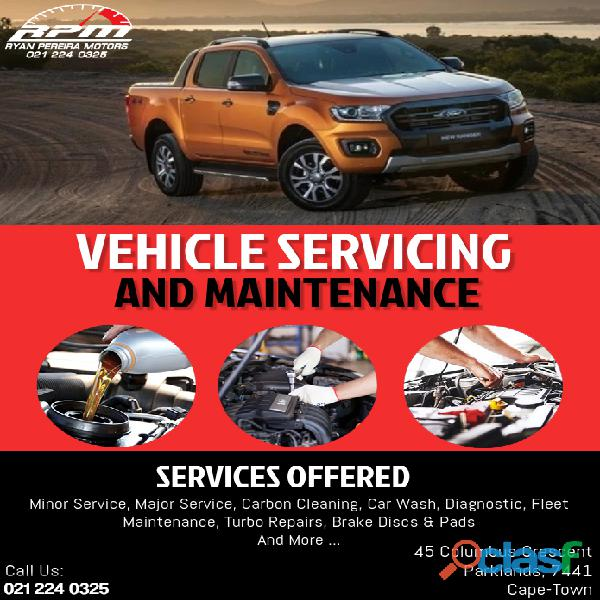 Bakkie Servicing & Repairs