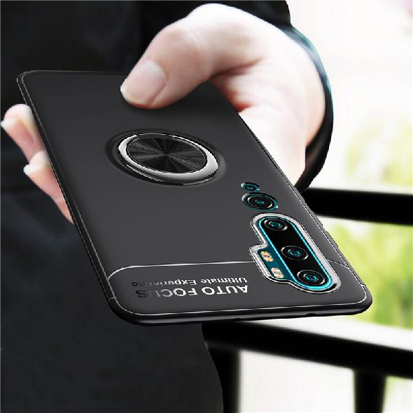 Bakeey 360 Rotating Magnetic Ring Holder Soft TPU Shockproof