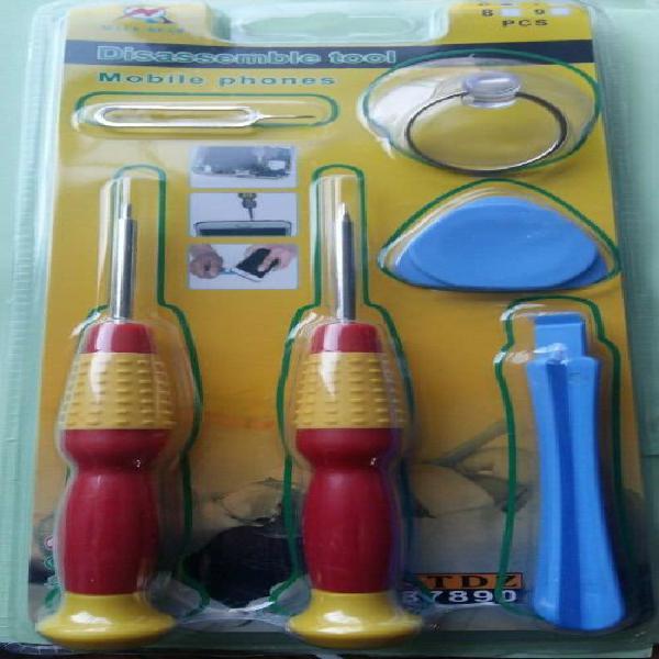 Disasseble tool repair kit set tool for mobile phones