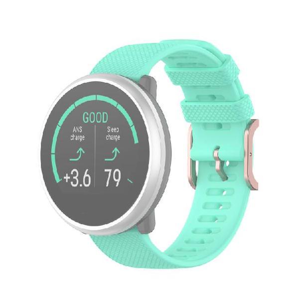 For polar ignite 20mm dot texture wrist strap(mint green)