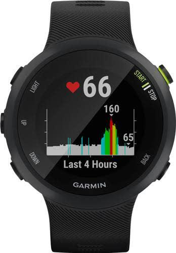 Garmin forerunner 45 - black - gps fitness watch (new)