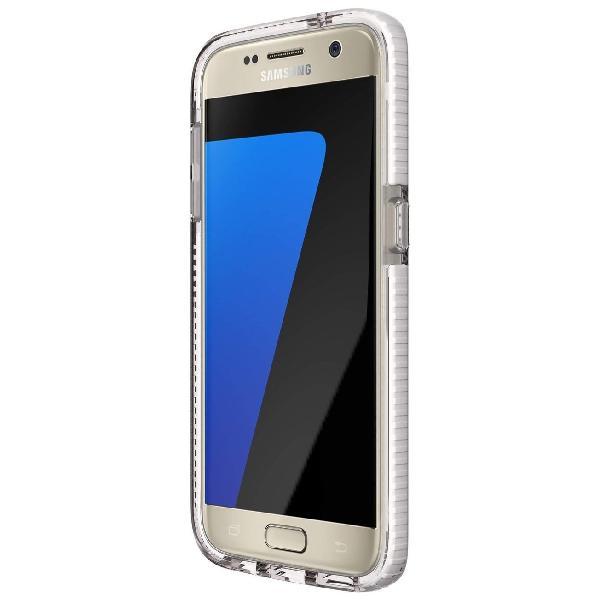 Tech21 Evo Check Samsung Galaxy S7 Cover (Clear/White)