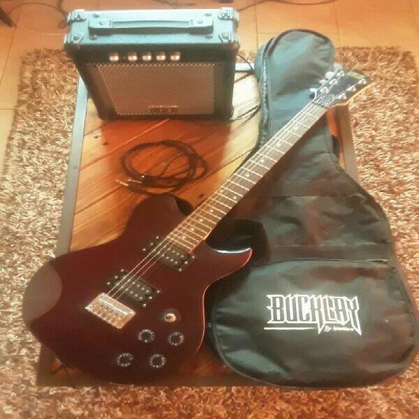 Buckley guitar with set included 0