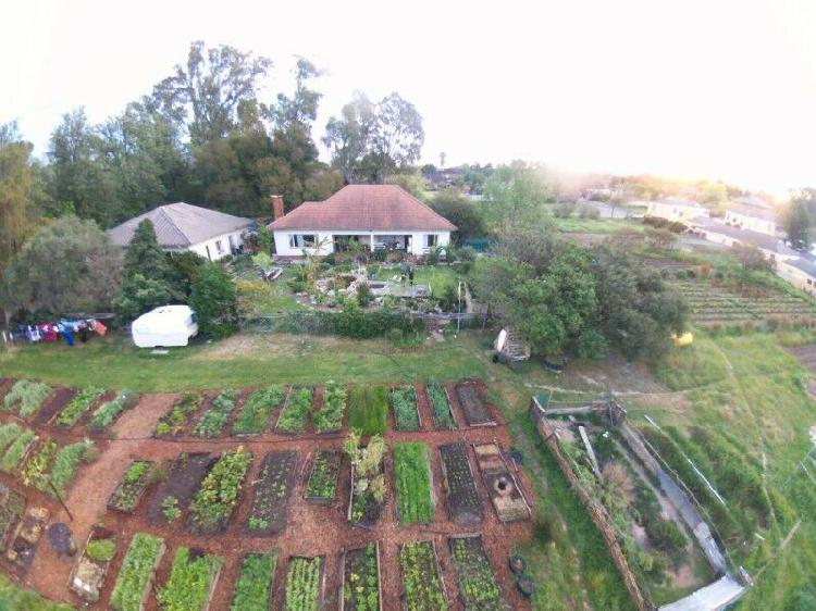 Large room for rent on small organic farm near central
