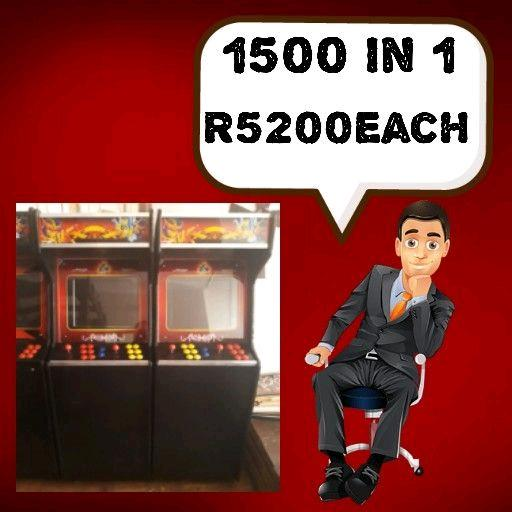 New Arcade Game: 1500 Games in 1
