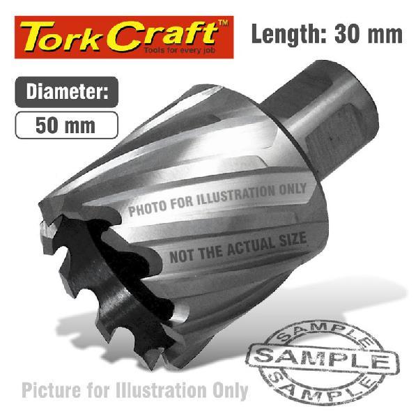 Tork Craft Annular Hole Cutter HSS 50 X 30mm Broach Slugger