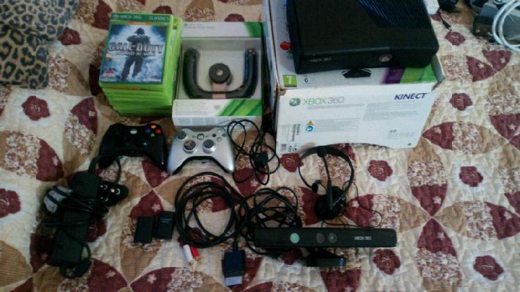 Xbox360 Kinetic +wii bundle