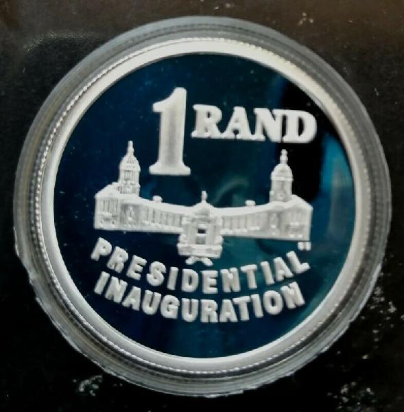 1994 Mandela VIP Presidential Inauguration Proof R1 in white