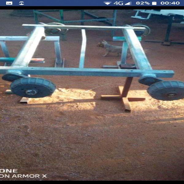 Burquip tandem axle 3 ton