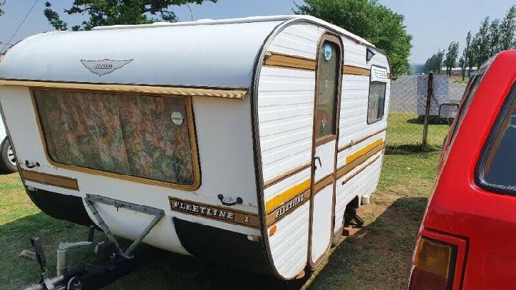 Jurgens fleetline 1 caravan