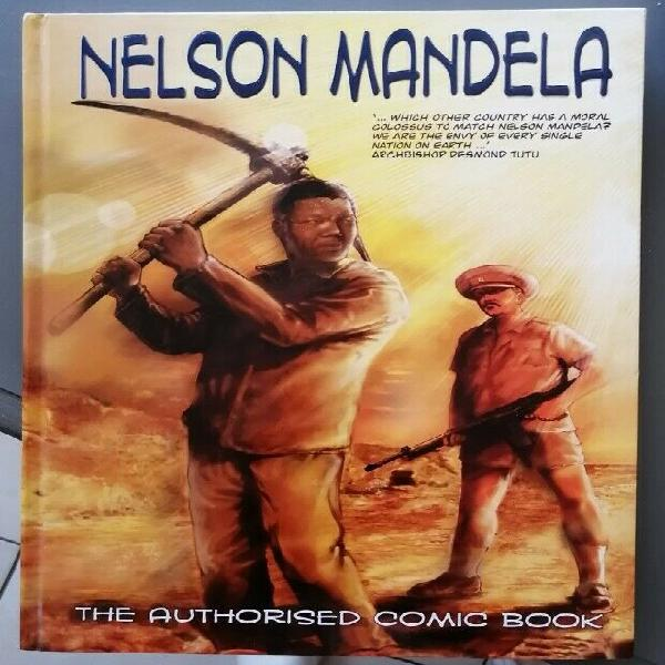 Mandela - The Authorized Comic Book Original Signed by the