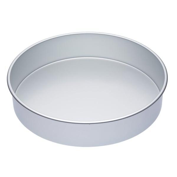 MasterClass Silver Anodised Round Deep Cake Pan