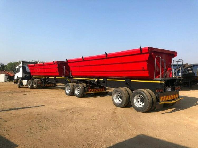We offering the best deal on side tipper trailer