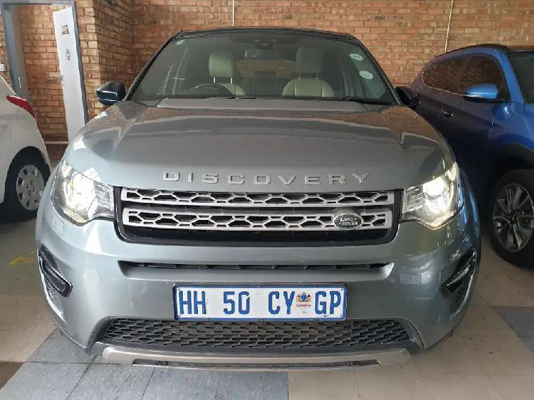 2016 land rover discovery sport hse-sd4 auto