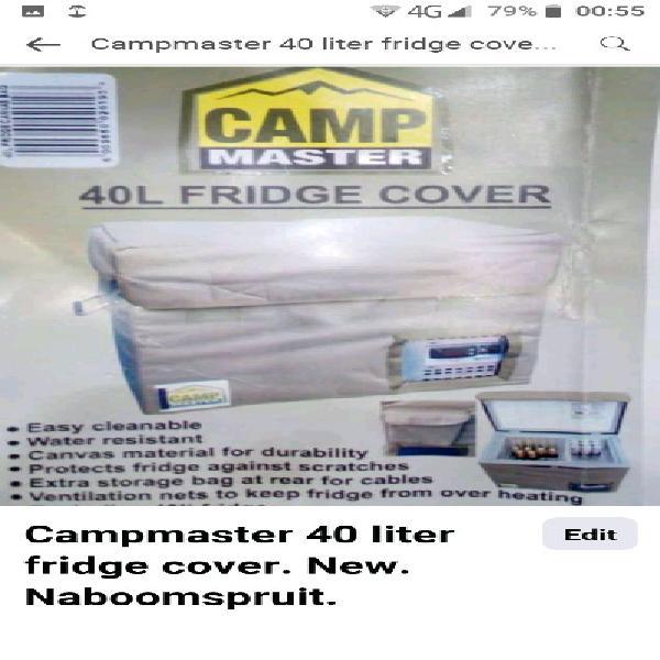 Campmaster 49 liter fridge cover canvas