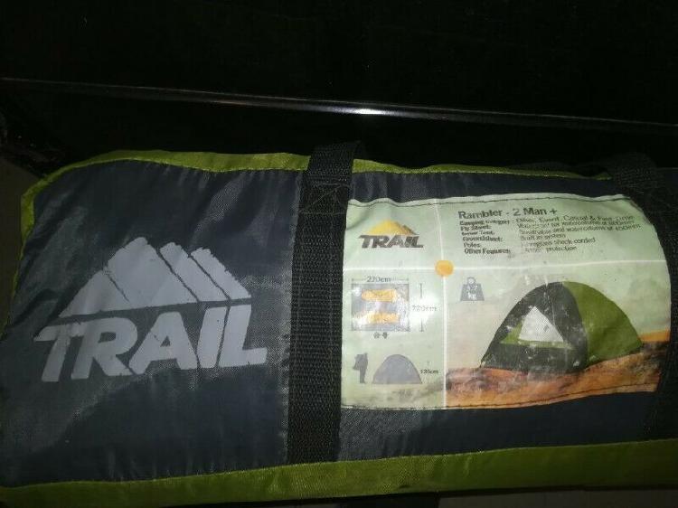 Double action hand pump & trail 2 man + tent
