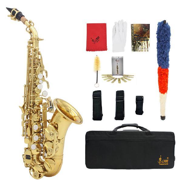Slade saxophone soprano instrument b-flat saxophone for