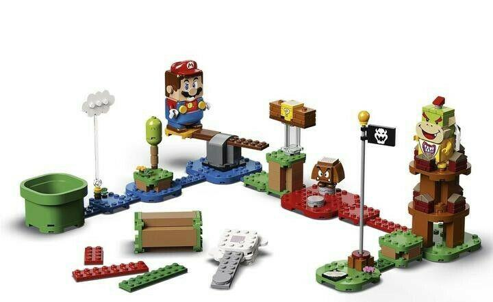 Bargain adventures with mario starter course lego!