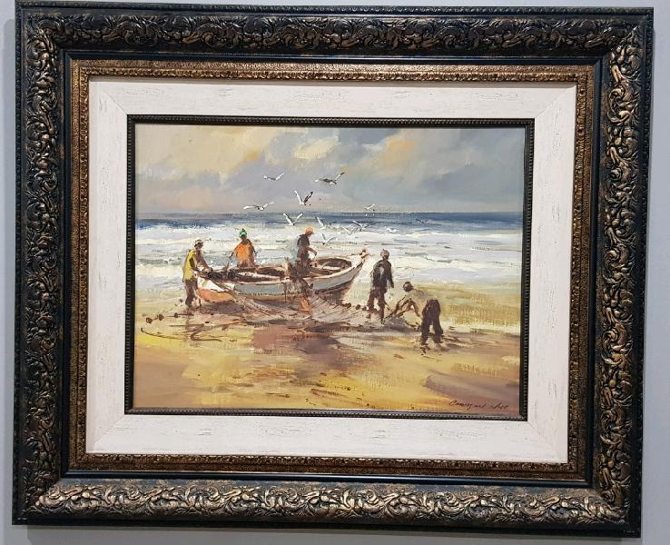 "Christiaan nice ""fishermen and boat"""