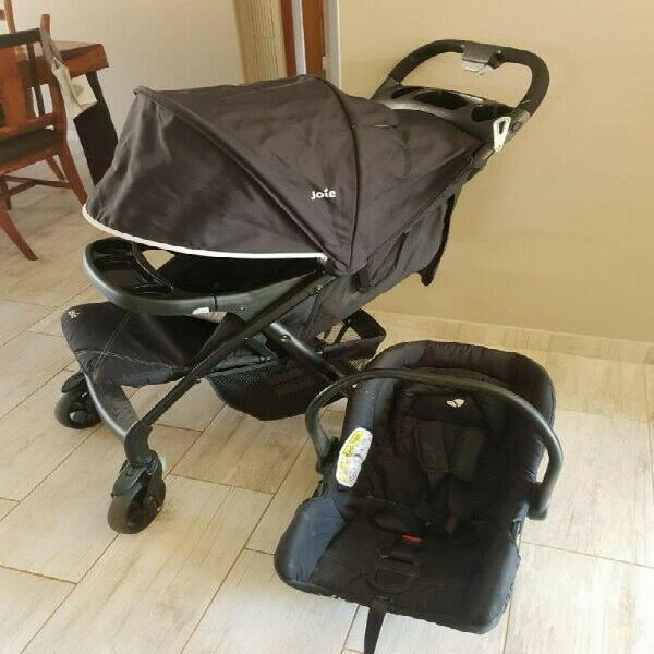 Joie pram and car seat combo