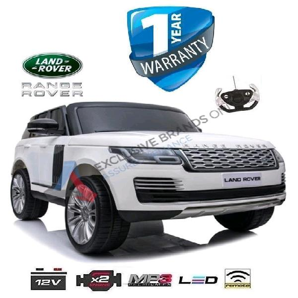 Kids electric ride on range rover, 45kg, bluetooth, mp3