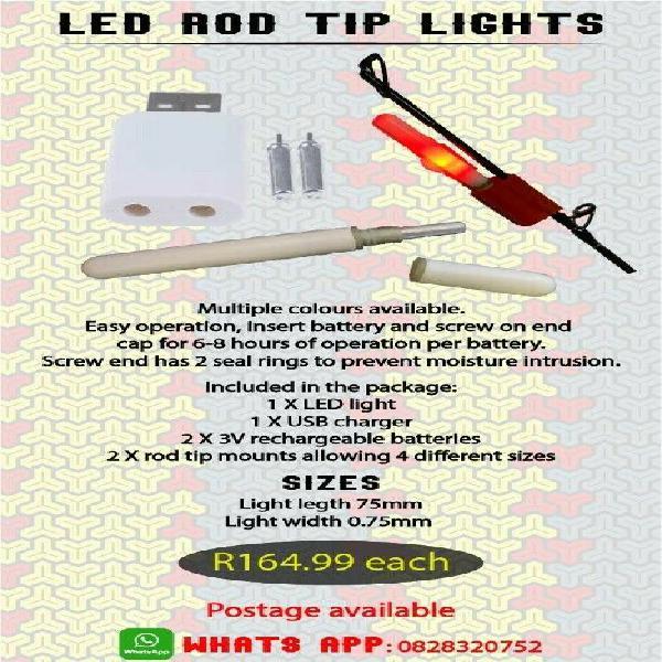 Led rod tip light