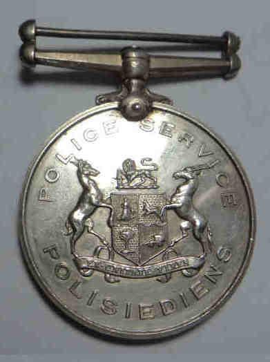 Sap faithful service medal to 11961 (m) constable m.n.j.
