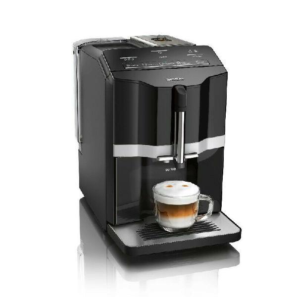 Siemens eq.300 black fully automatic coffee machine