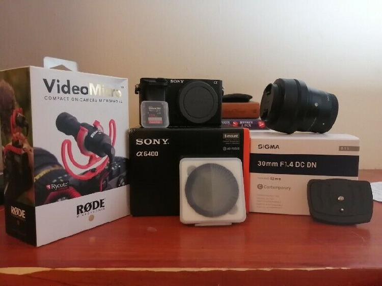 Sony a6400 with extras