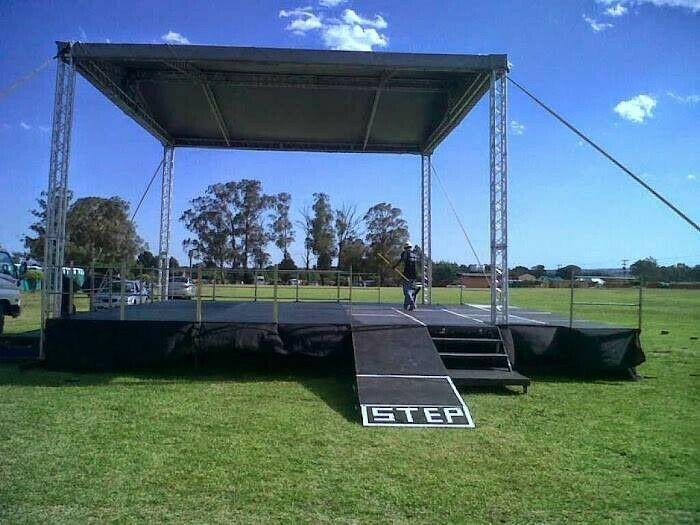 Stage and sound hire
