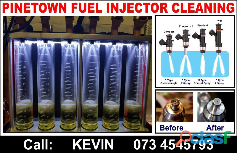 Pinetown injector cleaning services