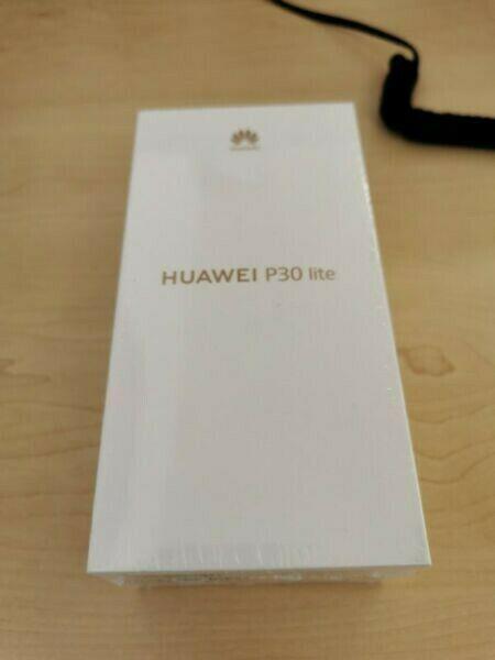 Huawei p30 lite midnight black dual sim sealed in the box