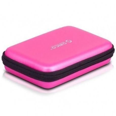 Orico 2.5 portable hard drive protector bag pink - orico 1kg