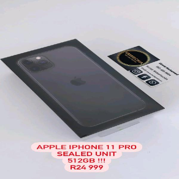 Iphone 11 pro 512gb sealed brand new